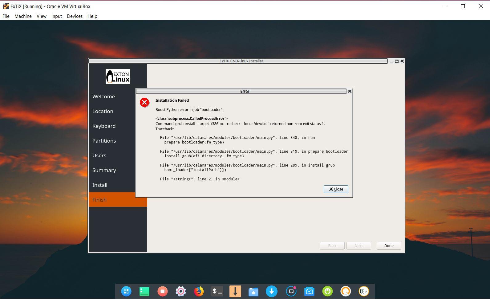 ExTiX 19 0 with Deepin 15 5 Desktop, Refracta snapshot, Calamares